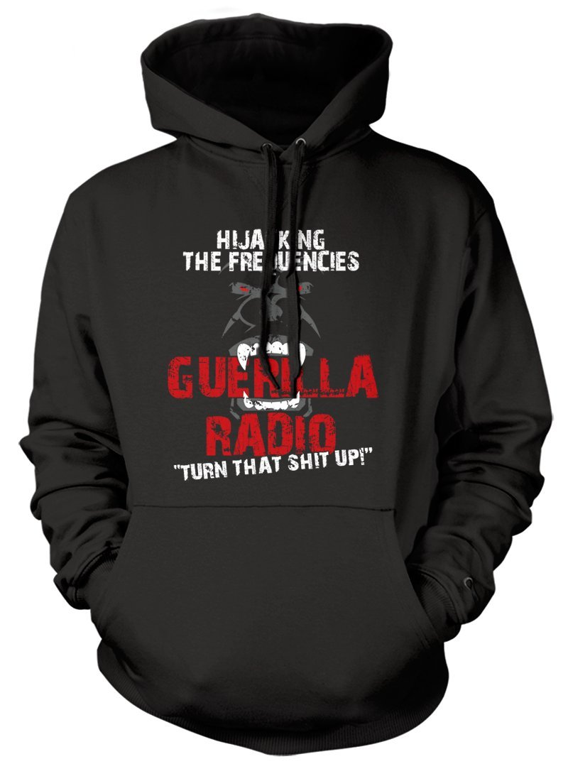 BathroomWall T-shirts Rage Against The Machine Inspired RATM Guerilla Radio, Hoodie