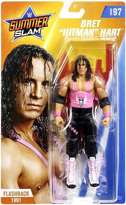"""Brett """"The Hitman"""" Hart Celebrity Wrestlers"""