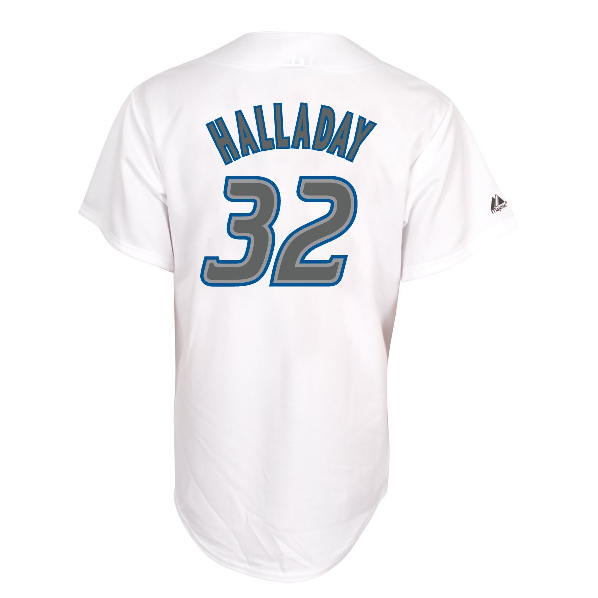 outlet store 0ab0f 06966 Amazon.com : Roy Halladay Toronto Blue Jays Replica Home ...