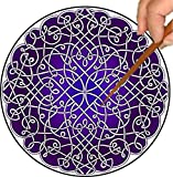 Purple Curlz Mandalynth: A Focus Tool for Stress Relief, Meditation and Mental Exercise