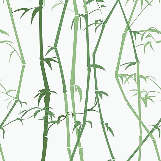 Amazon Com Dktie Bamboo Decorative Window Cling Film Designs