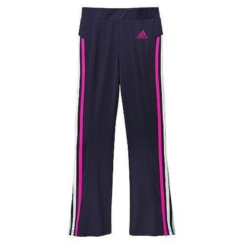 Amazon.com: adidas Side Stripes Yoga Pants - Girls 15-16 X ...