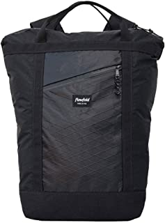 product image for Flowfold Denizen 18L Minimalist Commuter Backpack - Ultralight Tote Backpack, Water-Resistant, Made in USA Laptop Backpack (Jet Black)