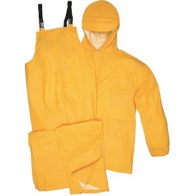 35255365b581 Amazon.com  Gempler s Premium Quality Rain Jacket and Bib Overalls Waterproof  Rain Suit  Clothing