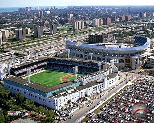 MLB Chicago White Sox Comiskey Park Stadium Photo (Size: 8
