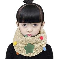Bufanda circular con diseño de Estrellas, chal con trenzas gruesas, bufanda Tubular de punto, tejido cálido con diseño…