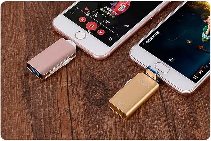USB 3.0 Flash Drive para Smartphone Multi Conector [3 en 1 ...