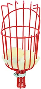 Meda FBK01 Basket Twist Tool for an Extension Telescopic Picker Pole // Ideal for Apple Picking, Avocados, and Other Fruit, Red