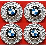 """Four (4) 1984-1991 BMW BBS 14"""""""" Wheel Center Hub Caps Styl.5 E30 318i 325e 325i"""