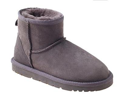 de6ffedbd61 OZwear UGG Classic Warm Snow Women's Short Boots: Amazon.co.uk ...