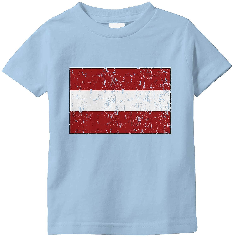 Amdesco Latvia Flag Latvian Infant T-Shirt