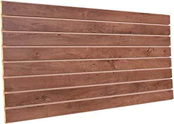 Amazon Com Breckenridge Oak Slatwall Display Panels 24 H X 48 L 2 Pack Home Improvement