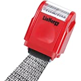 Identity Protection Roller Stamp Lionergy Wide Roller Identity Theft Prevention Security Stamp