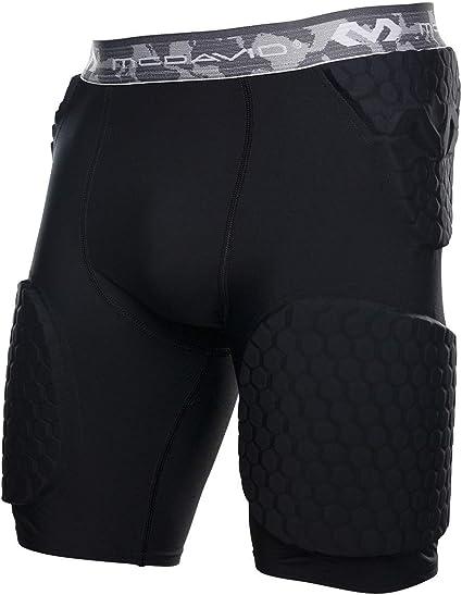 McDavid 7991 id/éal pour les sports de contact Short de compression rembourr/é pour soutenir et prot/éger les hanches 1 short le coccyx et les cuisses