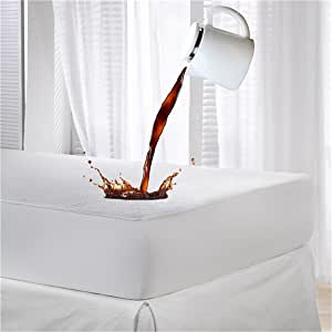 Dudu N Girlie Terry 100% algodón protector de colchón para cuna, 70cm x 140cm