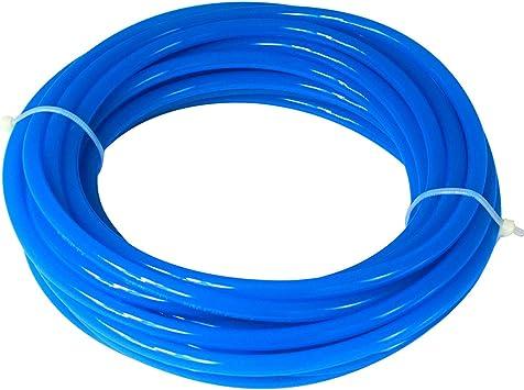 12MM OD X 8MM ID POLY HOSE ETHER BLUE PUET12//080B-25 Kelm PU Tube /& Recoil Hos