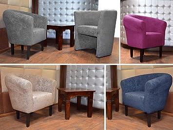 Poltrona Lounge in Micro-Velluto 2 cm FORTISLINE Monaco W426