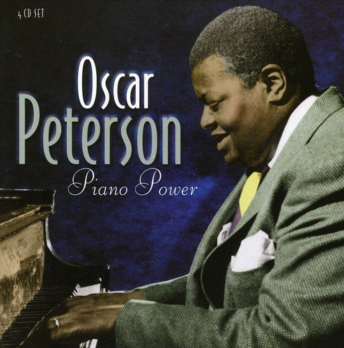 CD : Oscar Peterson - Piano Power (United Kingdom - Import, 4 Disc)
