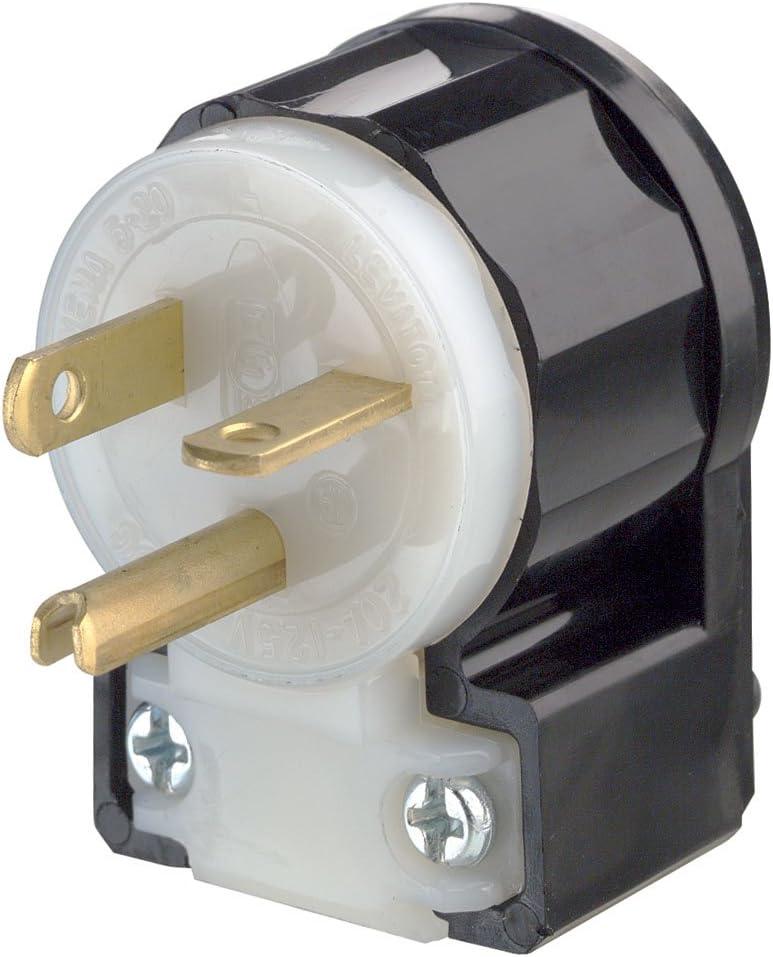 Leviton 5366-CA, Black-White - Electric Plugs - Amazon.com  Amazon.com