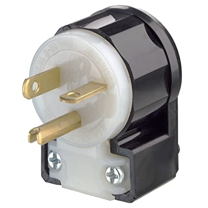 leviton 5366 ca 20 amp 125 volt straight blade plug industrial rh amazon com