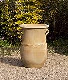 """Anfora in terracotta """"Cistus"""", di alta qualità, fatto a mano e resistente al gelo, grande decorazione per il giardino, per ambienti esterni e interni"""