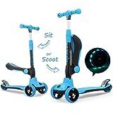 Baobë 5 en 1 niños Kick Scooter, Scooter Ajustable para ...