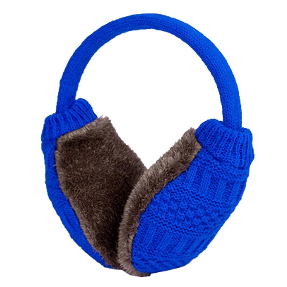 Knitting Super Soft Earmuffs Winter Earmuffs Ear Warmers,Blue KE-CLO2474962011-JELLY01763