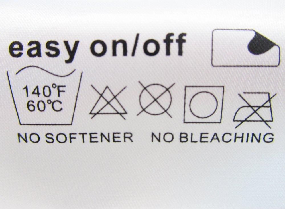 Confezione da 4 Kit di Panni in microfibra rettangolari e triangolari per le scope a vapore Black+Decker FSM1630 Deluxe alternativa a FSMP20, FSMP30 Prodotto genuino da Green Label