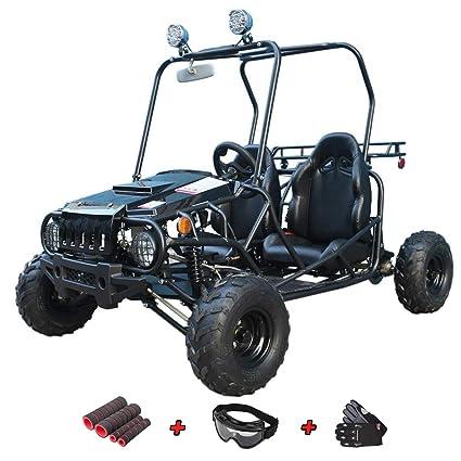 Amazon com: X-Pro 110cc Youth Go Kart Dune Buggy Kids Go