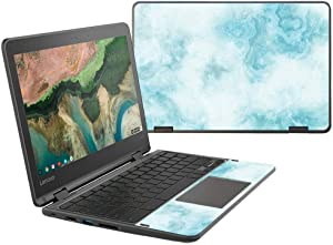 "MightySkins Skin Compatible With Lenovo 300e Chromebook 11.6"" (2018) - Blue Marble 
