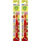 惠百施 GACHAPIN 儿童牙刷 3-6岁 2支装 B-6161(进口)
