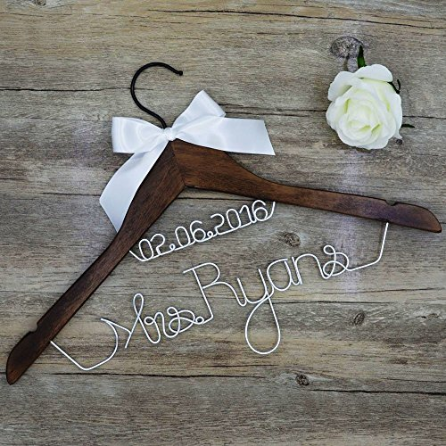 Handmade DIY Wedding Mrs Wedding Hanger,Wedding Party Decora