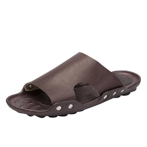 ALIKEEY Casual Transpirable Hombres Zapatillas Sandalias Verano Playa Casa Apartamento Sandalias Zapatos: Amazon.es: Zapatos y complementos