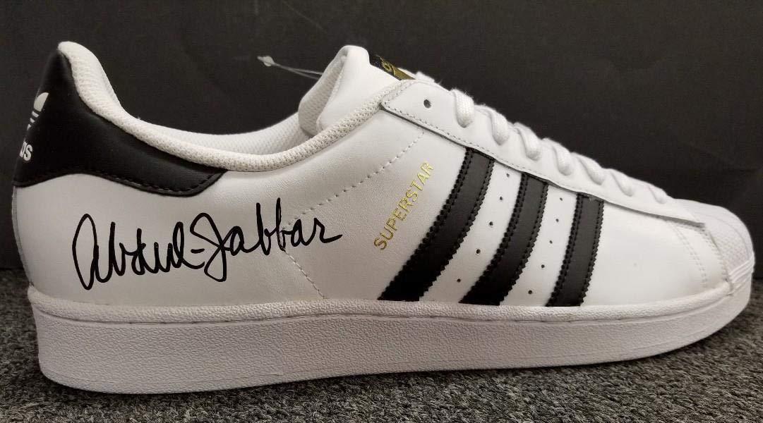 Kareem Abdul Jabbar Autographed Signed Memorabilia Adidas 6X Nba MVP Shoes Low Top Beckett Authentic Itp Coa