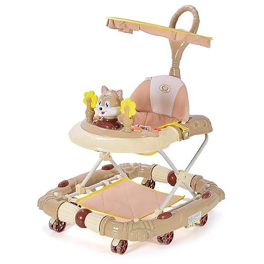 Baby walker El Andador para bebés antivuelco multifunción Plegable ...