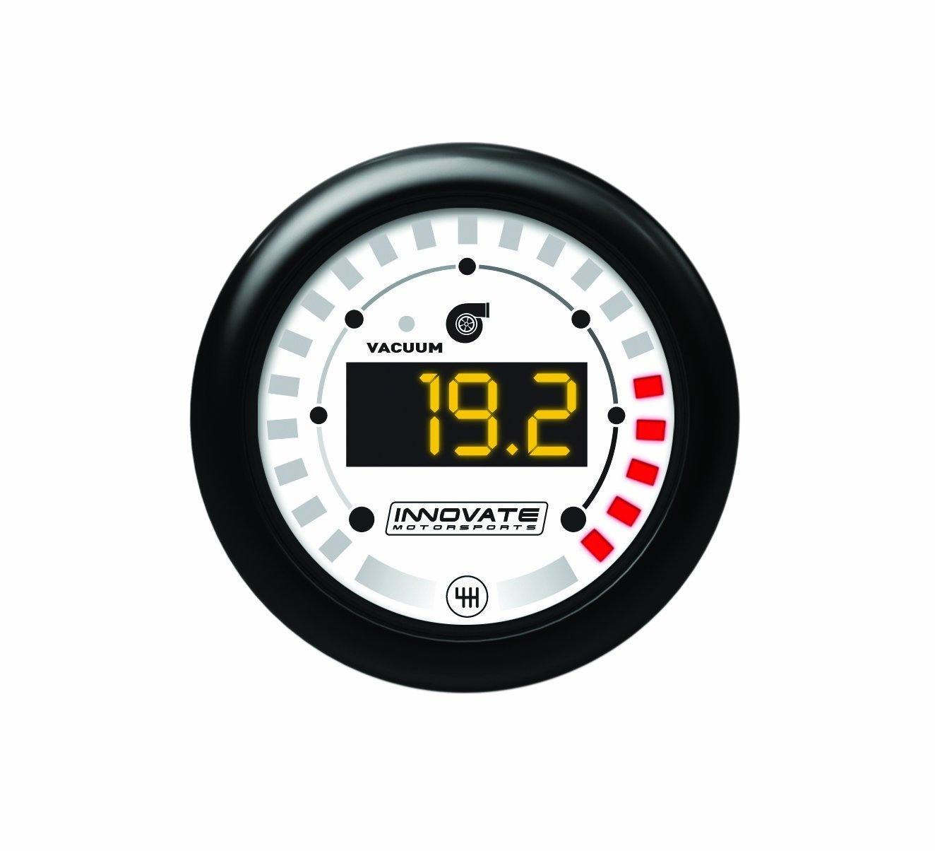 Innovate Motorsports 3851 MTX Digital Series Dual Function Vacuum/Boost and Shift Light Gauge Kit by Innovate Motorsports