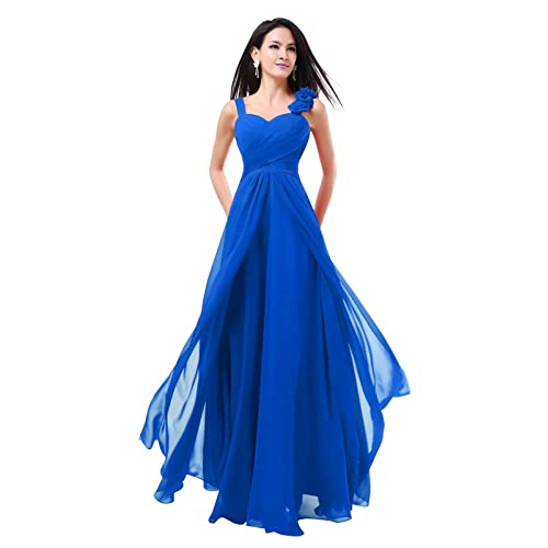 New Formal Long Evening Ball Gown Party Prom Bridesmaid Dress -SZ