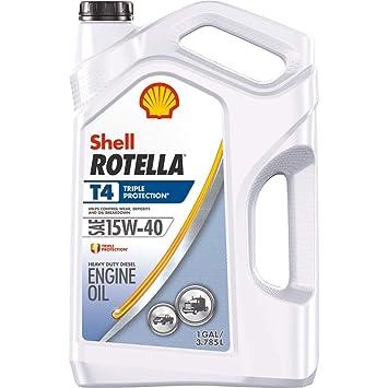 Rotella T4 Triple Protección Aceite de motor (3 unidades)