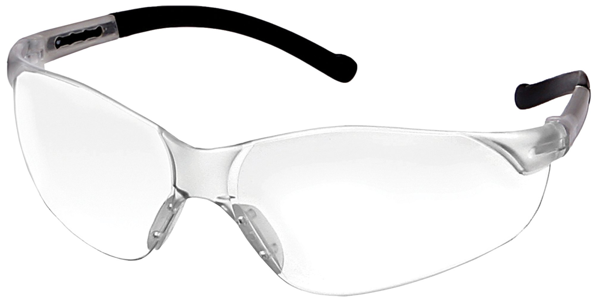ERB 17058-12 Inhibitor NXT Safety Glasses with Clear Temples & Clear Anti-Fog Lens (12-Pack)