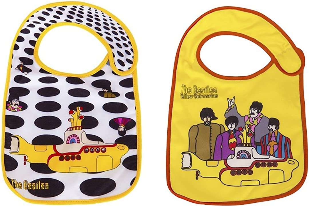 The Beatles Bibs 2 Pack by Daphyl's