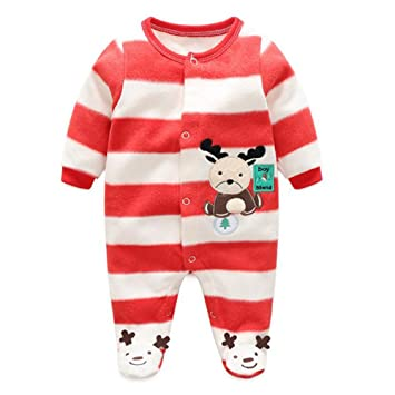 7664318ce Baby Girls Boys Cartoon Costumes Infant Outfit Baby Romper Sleepsuit ...