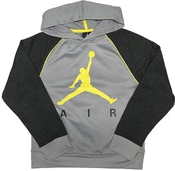 c02abcfb950c Nike Jordan Therma Fit Elephant Print Hoodie Boys Size Small 8-10 ...