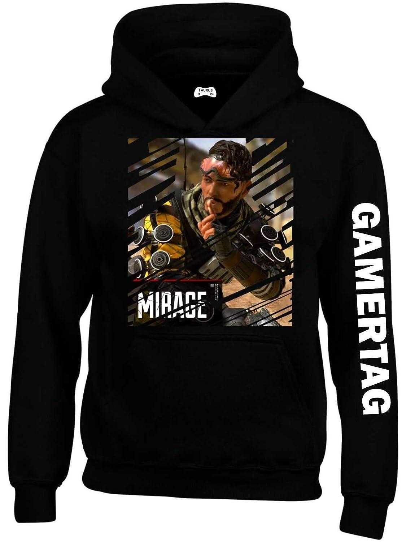 TAURUS CLOTHING APEX Legends Hoodie Personalised with Gamer TAG 50395