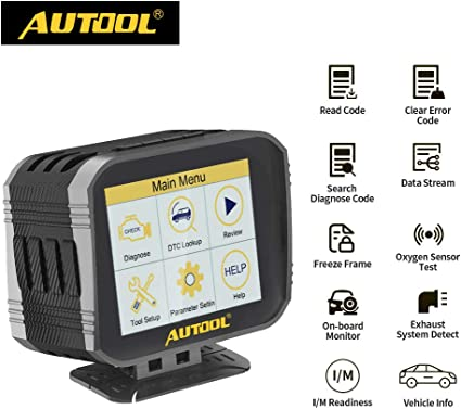 Speedometer Water Temperature Fuel Pressure Tester AUTOOL X80 Car OBD2 HUD Multi-Function Digital Meter Gauge Trouble Code Reader//Cleaner for 12V OBDII Auto SUV Pickup Truck