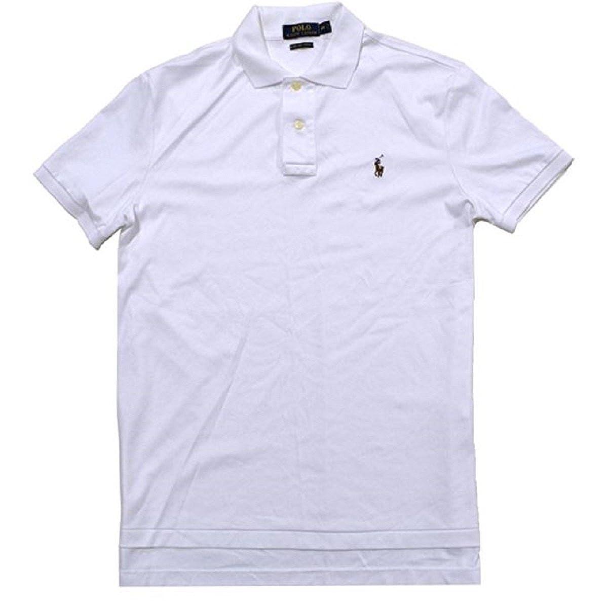 Polo Ralph Lauren Mens Cotton Heathered Polo Shirt At Amazon Mens