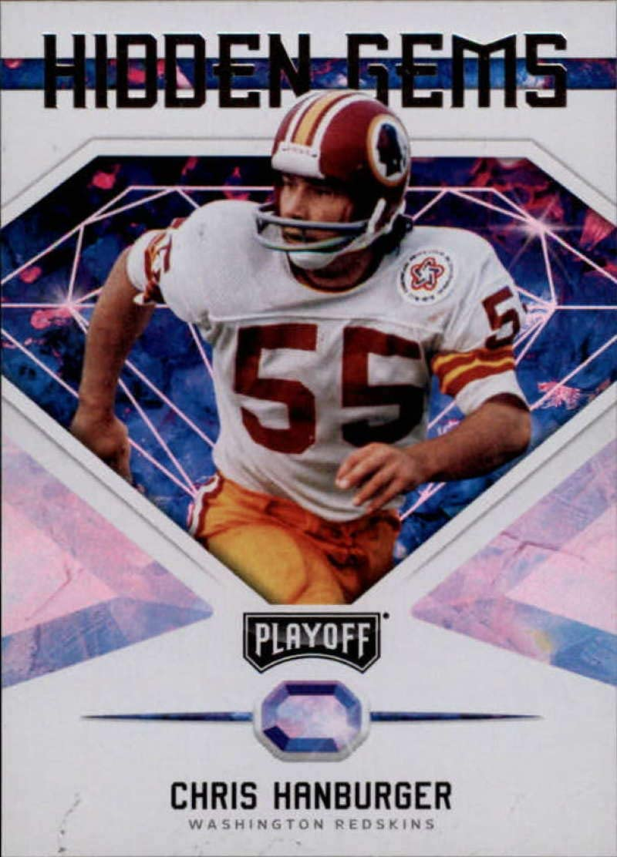 VG//EX Redskins Football Card 1976 Topps # 330 Chris Hanburger Washington Redskins Deans Cards 4