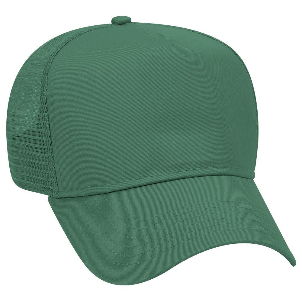 0c11185b OTTO Cotton Blend Twill 5 Panel Pro Style Mesh Back Trucker Hat - Black:  Amazon.ca: Clothing & Accessories