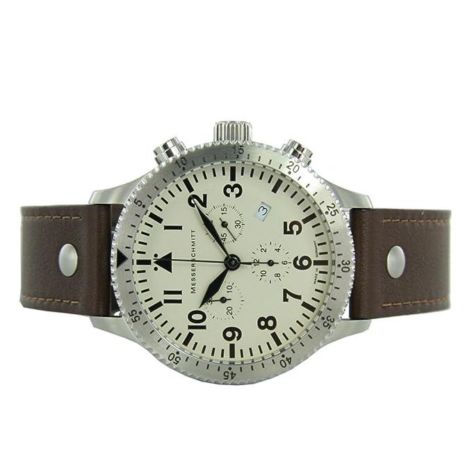 Ronda Swiss Herren Quarz Chronograph Messerschmitt 5030beigeb 4S5RqcL3Aj