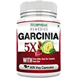 Morpheme Remedies Garcinia 5X (Garcinia, Green Coffee, Green Tea, Forskolin, Grape Seed) 60 VegCaps
