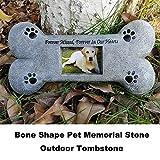 Puppycute Pet Memorial Stones, Bone Shaped
